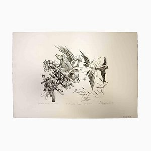 Leo Guida, The Collaps, Original Print, 1975