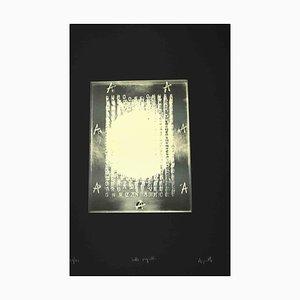Vincenzo Agnetti, Sieben Siegel, Siebdruck, Spätes 20. Jh