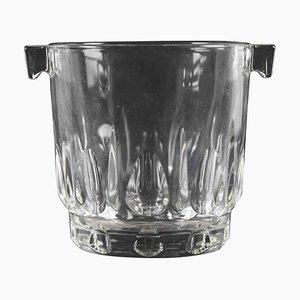 Cubitera italiana vintage de vidrio, años 70