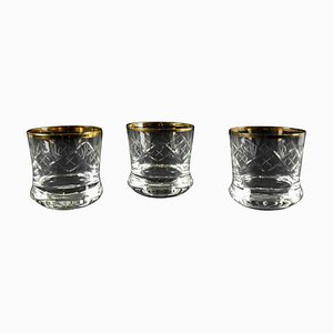 Bicchieri vintage, set di 3
