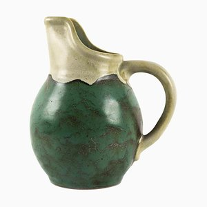 Vintage Turquoise Pitcher