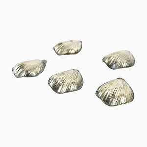 Silver Placeholders, Italy, 20th Century, Set of 5