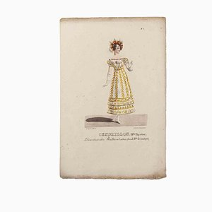 Godefroy Engelmann, Grands Théâtres de Paris - Cenerentola, Litografia originale, XIX secolo