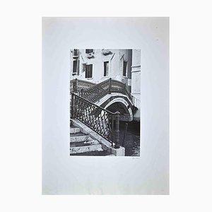 Impresión fotográfica de transferencia de Venecia, finales del siglo XX