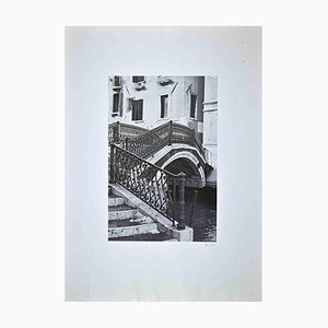 Venice, Original Photographic Transfer Print, Late 20th Century