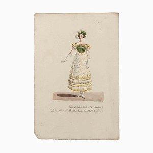Godefroy Engelmann, Grands Théâtres de Paris, Oliveris, Original Lithograph, 19th Century