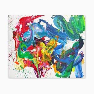 Bee Noise, abstrakte Malerei, 2021
