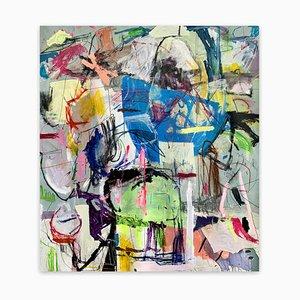 Sin título21H, Pintura abstracta, 2021