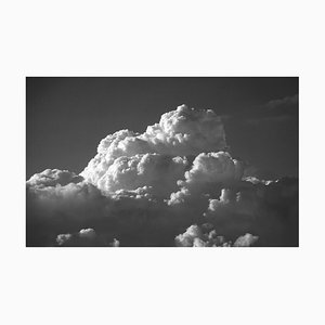 Zen Cloud Skyscape in Black and White, Limited Edition Giclée Print, 2021
