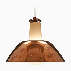 Copper K2-20 Pendant Lamp by Paavo Tynell for Idman Oy