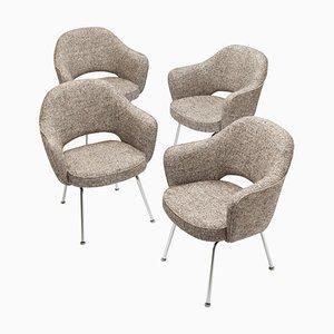 Chefsessel von Eero Saarinen für Knoll, 4er Set