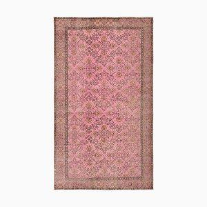 Rosa Überfärbter Teppich
