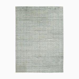 Grauer marokkanischer Teppich