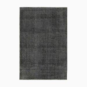Black Overdyed Rug