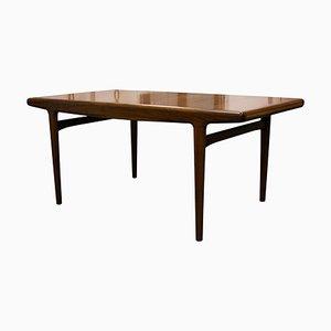 Tavolo da pranzo Mid-Century in teak di Arne Hovmand-Olsen per Mogens Kold, Danimarca, anni '50