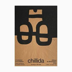 Expo 85 Abbaye de Montmajour Plakat von Eduardo Chillida