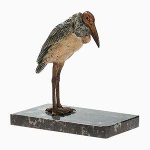 Vienna Bronze Marabou from Bermann Workshop
