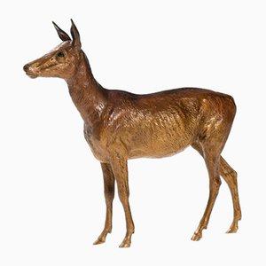 Vienna Bronze Deer from Workshop Bermann.