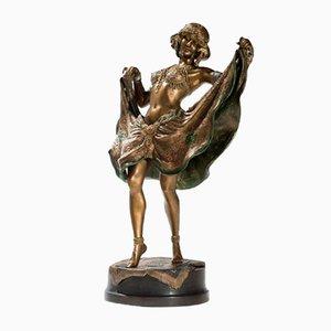 Vienna Bronze Erotic Dancer from Bergmann Workshop