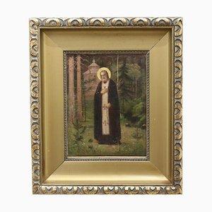 Pintura, Vida de San Serafín de Sarov
