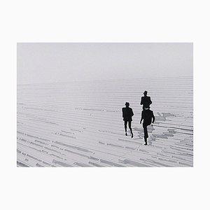 Anna Malikowska, London Calling, Contemporary Figurative Acryl auf Leinwand, 2014