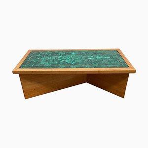 Tavolino da caffè Mid-Century verde