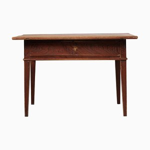 19th Century Northern Swedish Gustavian Country Pine Side Table