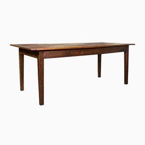 Antiker englischer viktorianischer Bauerntisch aus Pinienholz, 1900er