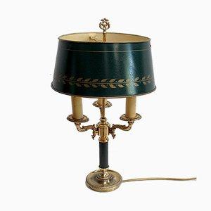 Empire Style Bronze Bouillotte Lamp, 19th Century
