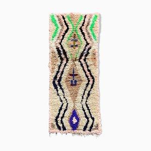 Kleiner Vintage Berber Azilal Teppich
