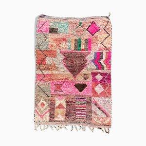 Small Vintage Moroccan Boujad Carpet