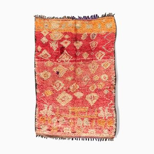 Vintage Berber Boujad Teppich