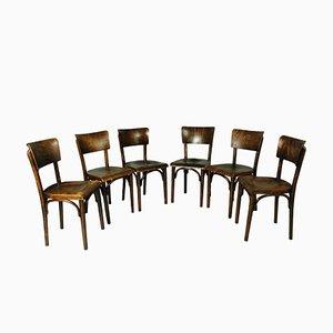 Chaises de Pub de Thonet, 1930s, Set de 6