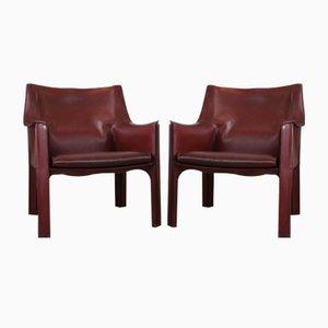 CAB-B11 Sessel von Mario Bellini für Cassina, 1970er, 2er Set