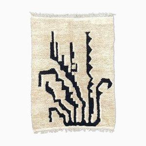 Modern Berber Beni Ourain Carpet