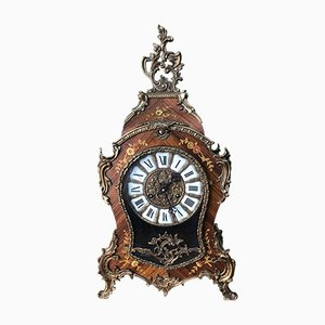 Boulle Mantel Clock, 1950s