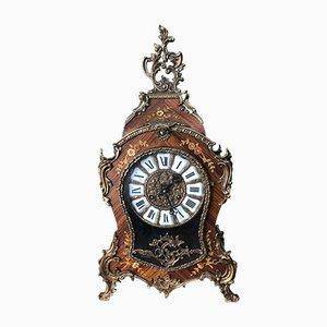 Orologio da camino Boulle, anni '50