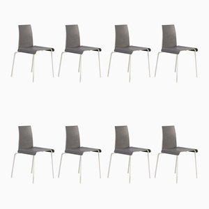 Metal and Acrylic Tama Chairs by Uwe Fischer for B&B Italia, 1990s, Set of 8