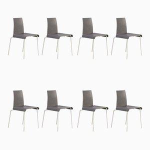Tama Stühle aus Metall & Acryl von Uwe Fischer für B&B Italia, 1990er, 8er Set