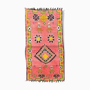 Kleiner Vintage Berber Boujad Teppich
