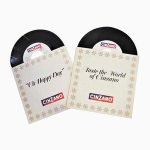 CD's von Cinzano 1983, 2er Set