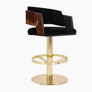 Chaise de Bar Pivotante Galea de Covet Paris