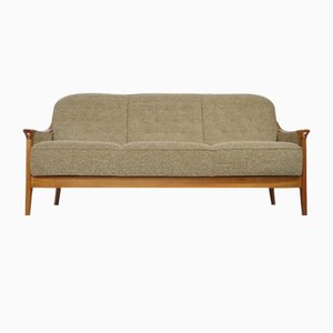 Mid-Century Swedish Cherrywood Sofa, 1970s