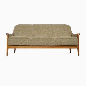 Schwedisches Mid-Century Kirschholz Sofa, 1970er