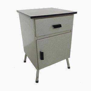 Vintage Stahl Nachttisch
