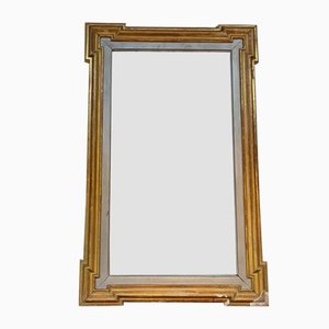 Antique Mirror with Golden Wood, 1900