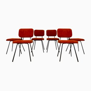 Chairs by André Simart for Airborne, 1960s, Set of 6