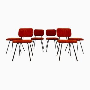 Stühle von André Simart für Airborne, 1960er, 6er Set