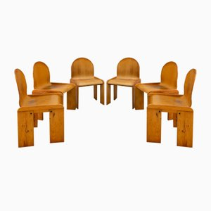 Chairs by Tobia & Afra Scarpa, Set of 6