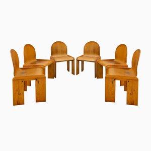 Stühle von Tobia & Afra Scarpa, 6er Set